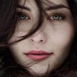 Žensko profil profil naslov