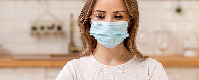Zaštita kože pod maskom