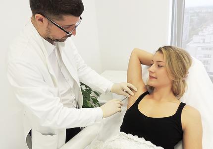 Botox znojenje