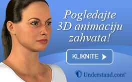 3D animacija frakcijski skin resurfacing