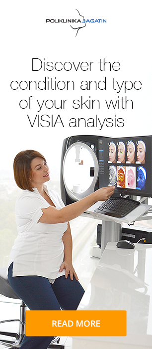VISIA professional facial skin analysis