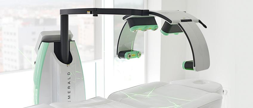 Emerald hladni laser