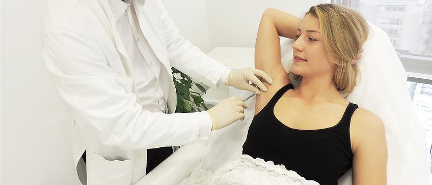 Botox terapija protiv znojenja