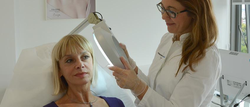 Dermatological exam