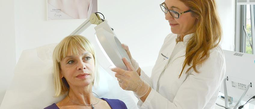Dermatologische Untersuchung