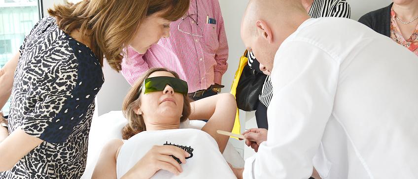 Edukacija o laserskim tretmanima