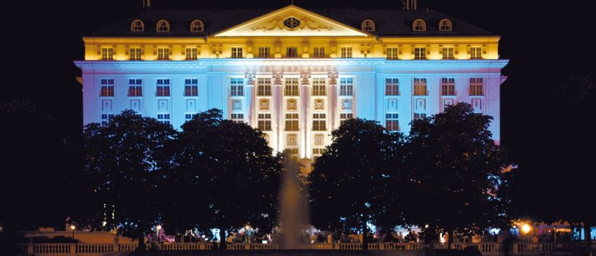 Esplanade-Zagreb-Hotel-Outside-Image-By-Night - 848x364