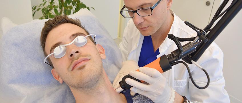 Lasersko odstranjevanje tetovaž
