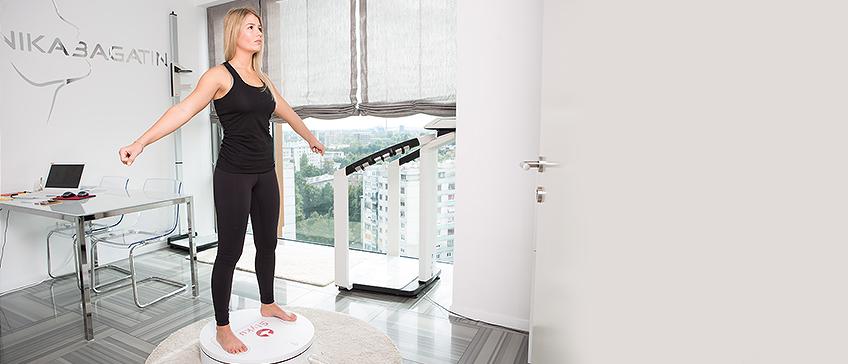 Styku 3D Scannen der Körpergröße