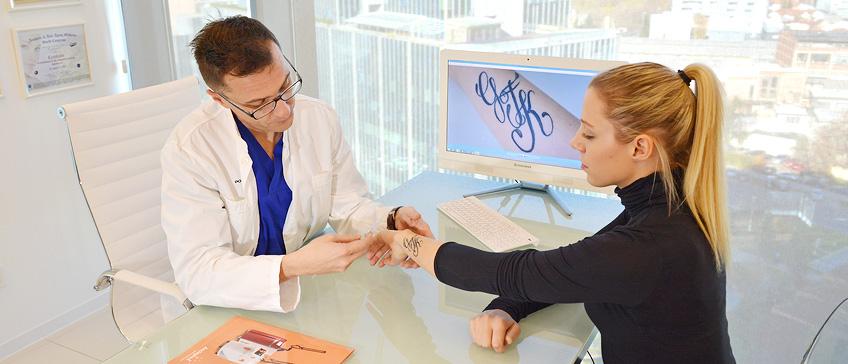 Uklanjanje tetovaže laserskim tretmanom