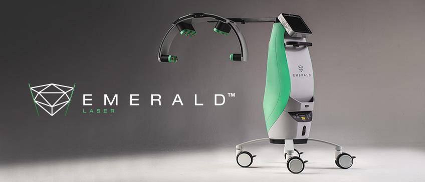 Novi Emerald hladni laser
