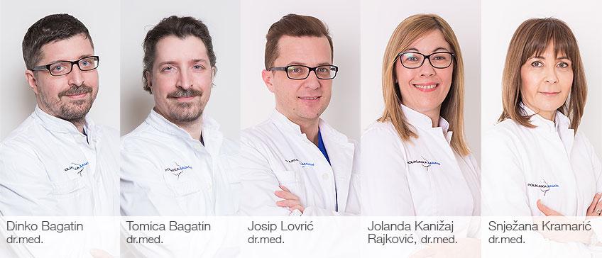 Die besten Ärzte im Jahr 2017. - Die Ärtzte der Poliklinik Bagatin