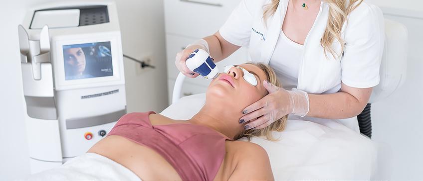 Lasersko pomlađivanje kože lica