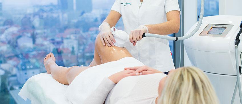 uklanjanje celulita na nogama pomoću Med Contour Multipower tretmana
