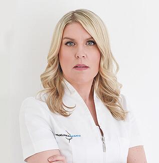 Ana Mogulić,  Leiterin der Abteilung Kosmetologie