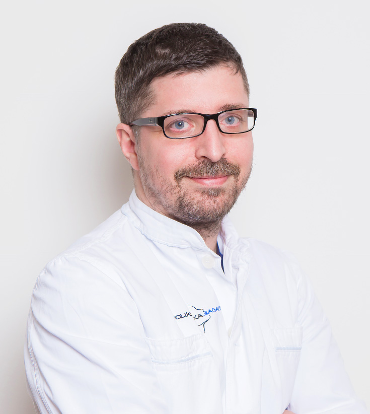 Dr. Dinko Bagatin, plastic and general surgeon