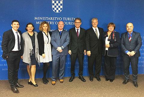 Američki partneri u posjetu Hrvatskoj i Poliklinici Bagatin