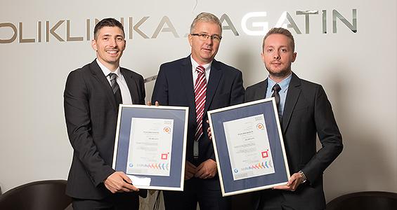 ISO certifikat - nova potvrda kvalitete Poliklinike Bagatin