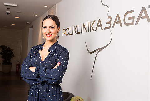 Lana Jurčević brigu o svom osmijehu prepustila Poliklinici Bagatin