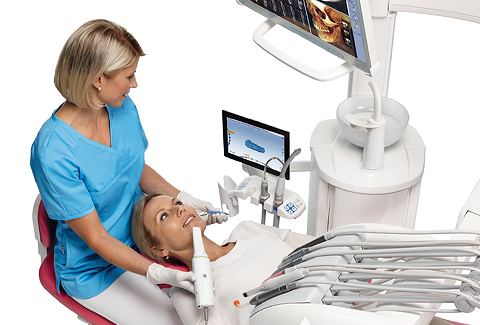 Top CAD/CAM system for the new teeth in one visit