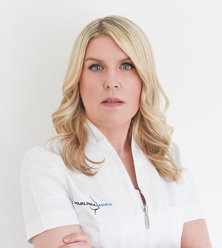 Ana Mogulić, Medical beautician