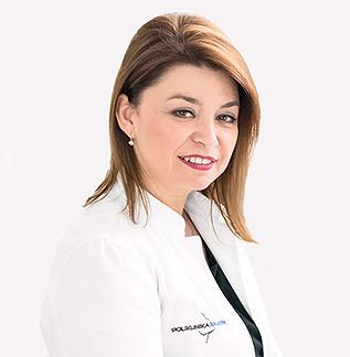 Kristina Ukalović, Head of polyclinic