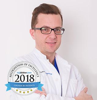 Dr. Josip Lovrić, general surgeon