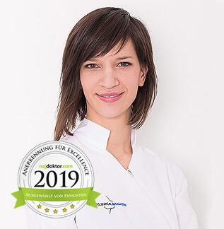 Majda Plišić Doktor der Zahnmedizin in der Poliklinik Bagatin